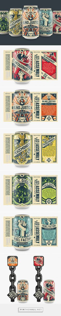 These Cans Are One Part Rock & Roll and One Part Craft Beer Propaganda