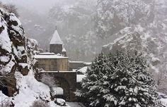 #geghard #monastery #temple #christian #armenian_apostolic_church #armenia #art #photography #religion #architecture #snow #winter