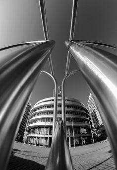 Tubing by Zdenek Papes on Opera House, Tube, Exterior, Abstract, Architecture, Building, Artwork, Design, Prague