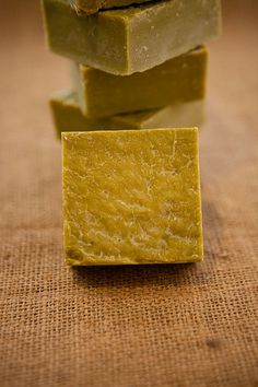 natural daphne laurel and olive oil soap bar by Lebaleb on Etsy