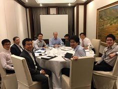 Great meeting with #CFASociety Thailand Board of directors!!