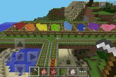 Sheep Rainbow on Minecraft, so pretty