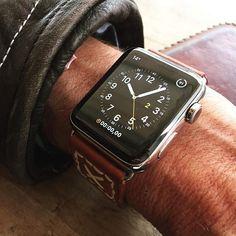 Watch Straps, Handmade Leather, Apple Watch, Belt, Watches, Luxury, Brown, Belts, Wrist Watches