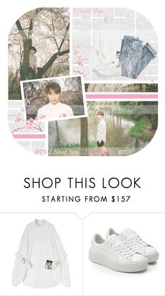 """""""I Need U--- BTS (Piano Cover)"""" by alicejean123 ❤ liked on Polyvore featuring J.Crew and Puma"""
