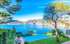 #capferrat #french riviera #cotedazur #Beautiful #waterfront #villa enjoying a magnificent view of sea and bay of #Villefranche and direct access to the sea and beach #Passable. 20 mins #monaco #montecarlo http://www.hermitageriviera.com/index.php/en/component/realestatemanager/?task=view&id=276&catid=82&tab=getmyhousesTab