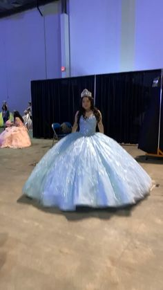 Light Blue Ball Gown - Gorgeous Sweetheart Bodice Quinceañera Gown Source by victoriaelegnce - Light Blue Quinceanera Dresses, Mexican Quinceanera Dresses, Mexican Dresses, Quincenera Dresses Blue, Cinderella Quinceanera Dress, Cinderella Dresses, Quinceanera Ideas, Wedding Dresses, Xv Dresses