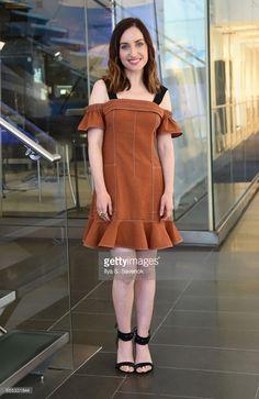 News Photo : Zoe Lister-Jones visits the SiriusXM Studios on...