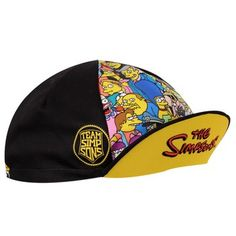 b501139e02642 THE SIMPSONS™ TEAM Velo Cycling Cap - Springfield Characters Cycling Gear