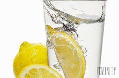 citrónová voda pre zdravie