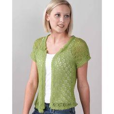 Valley Yarns 171 Vintage Vest (Free) in Valley Yarns at Webs