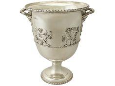 Antique Edwardian Sterling Silver Wine Cooler by Charles Stuart Harris    | eBay