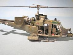 "UH-1C ""Mustangs"" By Modeler Andrej Bass."