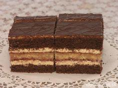Orechové rezy Czech Recipes, Ethnic Recipes, Eastern European Recipes, Sweet Desserts, Desert Recipes, Nutella, Great Recipes, Bakery, Deserts