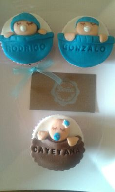 Cupcakes. Baby shower