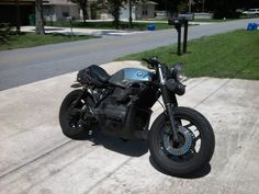 "BMW K1100 custom | Re: BMW 92' K75S - A ""Flying Brick"""