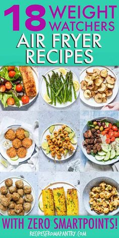 All of the weight watchers air fryer recipes included here are quick and SO easy. - All of the weight watchers air fryer recipes included here are quick and SO easy to make, and even - Air Fryer Recipes Wings, Air Fryer Recipes Appetizers, Air Fryer Recipes Vegetarian, Air Fryer Recipes Vegetables, Air Fryer Recipes Snacks, Air Fryer Recipes Low Carb, Air Frier Recipes, Air Fryer Recipes Breakfast, Air Fryer Dinner Recipes