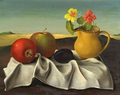 Georges Spiro (Polish/French), Still Life. oil on canvas Still Life, Oil On Canvas, Fruit, Poland, Painting, French, Google Search, French People, Painting Art