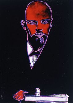 Andy Warhol (American, 1928-1987)    Lenin, ca. 1986     acrylic and silkscreen ink on canvas    22 x 16 in. (55.9 x 40.6 cm.)