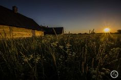 Kruszyniany -Tatarska wioska o zachodzie słońca. Więcej na blogu http://www.banita.travel.pl/tatarzy-kruszyniany-podlasie/
