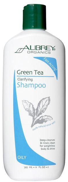 Aubrey Organics Green Tea Clarifying Shampoo
