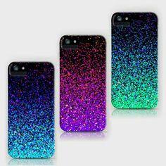 I love glitter phone