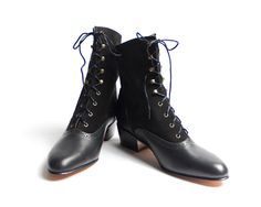 1920's vintage inspired lace up boots FREE by goodbyefolk on Etsy, via Etsy. ; Love these- would of COURSE need them in black AND brown ;)