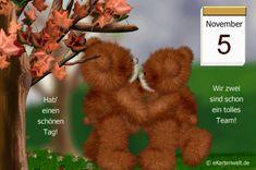 November, Teddy Bear, Night, Good Morning Coffee Gif, Day Of Year Calendar, November Born, Teddy Bears