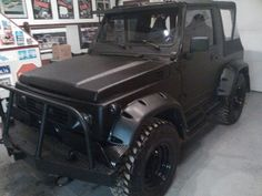 I know it's a Suzuki Samurai, but it's still pretty sick
