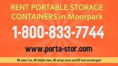 Need To Rent Storage Containers In Moorpark, California?