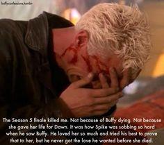 I cried, too - when I saw him break down