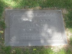 Errol Flynn's grave. Forest Lawn Memorial Park. Glendale.L… | Flickr Forest Lawn Memorial Park, Glendale California, Captain Blood, Travelers Rest, Errol Flynn, Famous Graves, Cemetery Art, Famous Stars, After Life