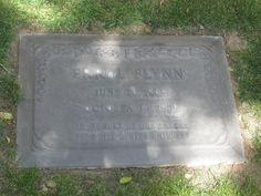 Errol Flynn's grave. Forest Lawn Memorial Park. Glendale.L… | Flickr Forest Lawn Memorial Park, Glendale California, Captain Blood, Travelers Rest, Errol Flynn, Famous Graves, Cemetery Art, Famous Stars, After Life