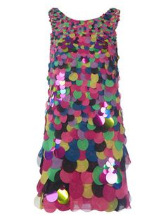 Carmina Dress by DVF. It's a party and a dress in one. Wow. via Mrs. Lillien