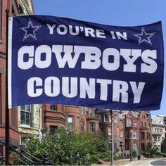 Dallas Cowboys Flag 3x5 FT Banner 100D Polyester NFL flag 005