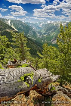 A view of Beartooth Pass from the Rock Creek Vista overlook on US Highway 212, elevation 9180 feet. At this location, one has a breathtaking view of the Rock Creek valley, almost all the way back to its headwaters in Wyoming. For larger view or to buy prints, visit http://jerryblank.us/shopgallery/00502v.html – Jerry Blank TAGS: Road trips