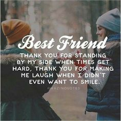 """True Friendship Quotes – Best Friends Forever Quotes """"True friends aren't the ones who make your problems disappear. Best Friends Tumblr, Best Friends Forever Quotes, Besties Quotes, Cute Quotes, Funny Quotes, Bestfriends, Birthday Quotes For Best Friend, True Best Friend Quotes, Thank You Best Friend"""