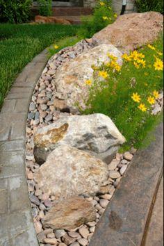 rock garden--edging