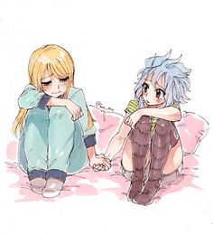 Fairy tail Lucy and levy