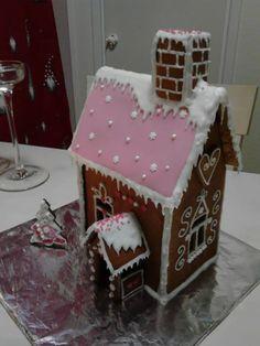 perinteistä ja hempeää! - by Tanja -- Piparkakkutalo, Joulu, Gingerbread house, Christmas