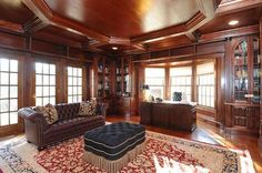 Exquisite Library - 55 Burying Hill Road, Greenwich, CT - Offered by Janet Milligan - http://www.raveis.com/mls/98544415/55_burying_hill_road_greenwich_ct/#