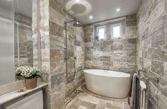 MK design - stone bathroom