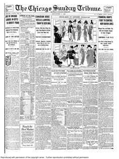 Sept. 7, 1913: Here's something you don't see every day ... two versions of the same story printed twice on the front page - right next to each other. A story about the death of a boy is there not once, but twice - one with more detail and one with just a bit. No word on whether or not this led to a correction.