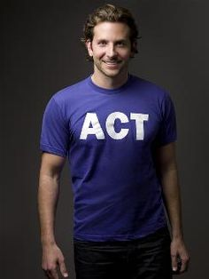Bradley Cooper supports the Alzheimer's Association and Alzheimer's Awareness. Just became 100 times hotter in every Sigma Kappa's eyes.