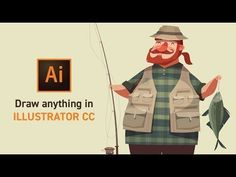 (1) Learn to Draw Anything with Adobe Illustrator CC - YouTube