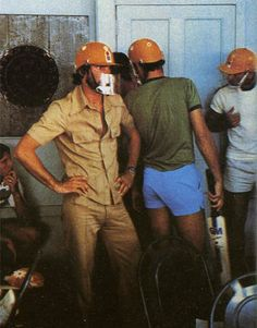 In the dressing room 1979 Gyana Riot WSC Packer Years