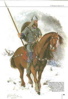 Bulgarian heavy horseman early 11th Century