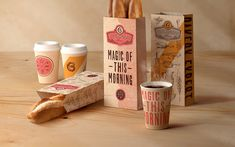 Boulangerie Paper Bags — The Dieline - Package Design Resource