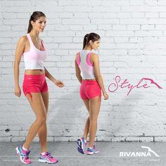 Que tal começar a semana com um look estiloso Rivanna Fitness? Para nós todo dia é dia de treino!