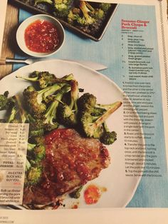 Sesame ginger pork & broccoli