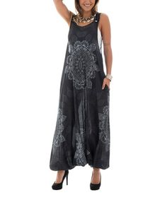 0a66c227a12 Take a look at this Black   White Mandala Harem Jumpsuit today!
